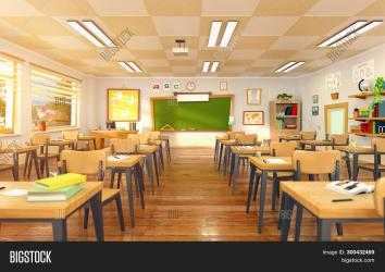 Empty School Classroom Image & Photo Free Trial Bigstock