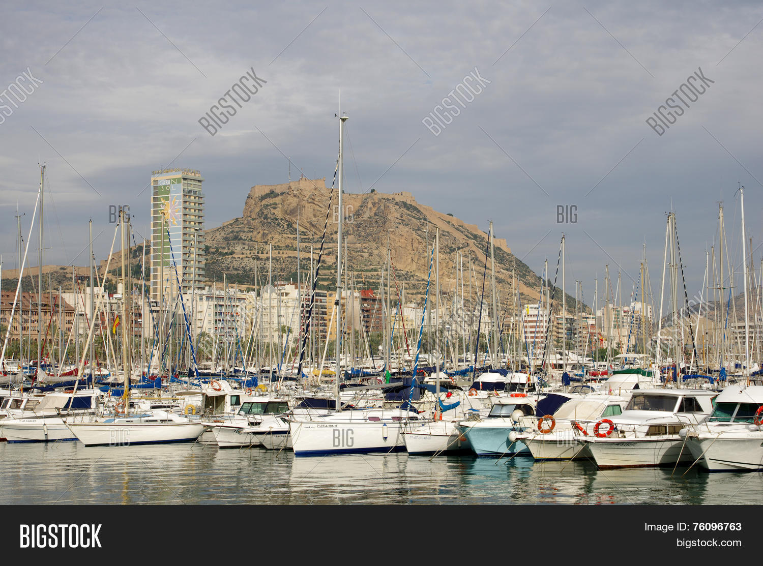alicante harbor image photo