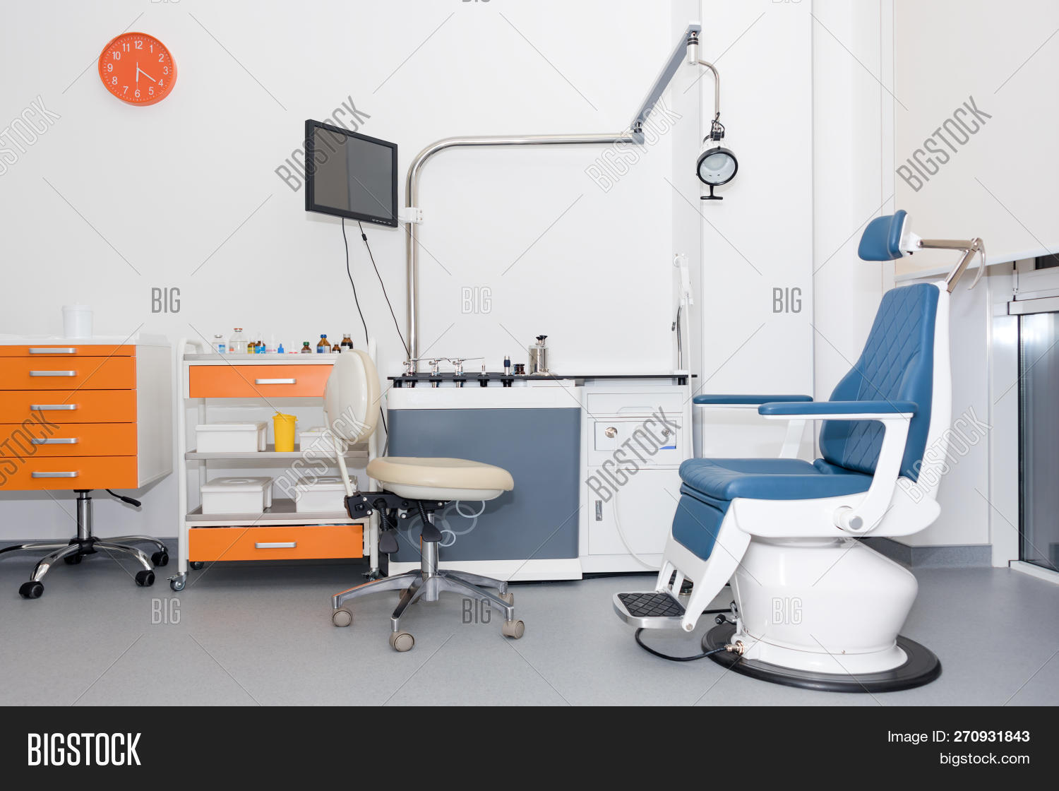 Used Dental Chairs Modern Dental Practice Image Photo Free Trial Bigstock