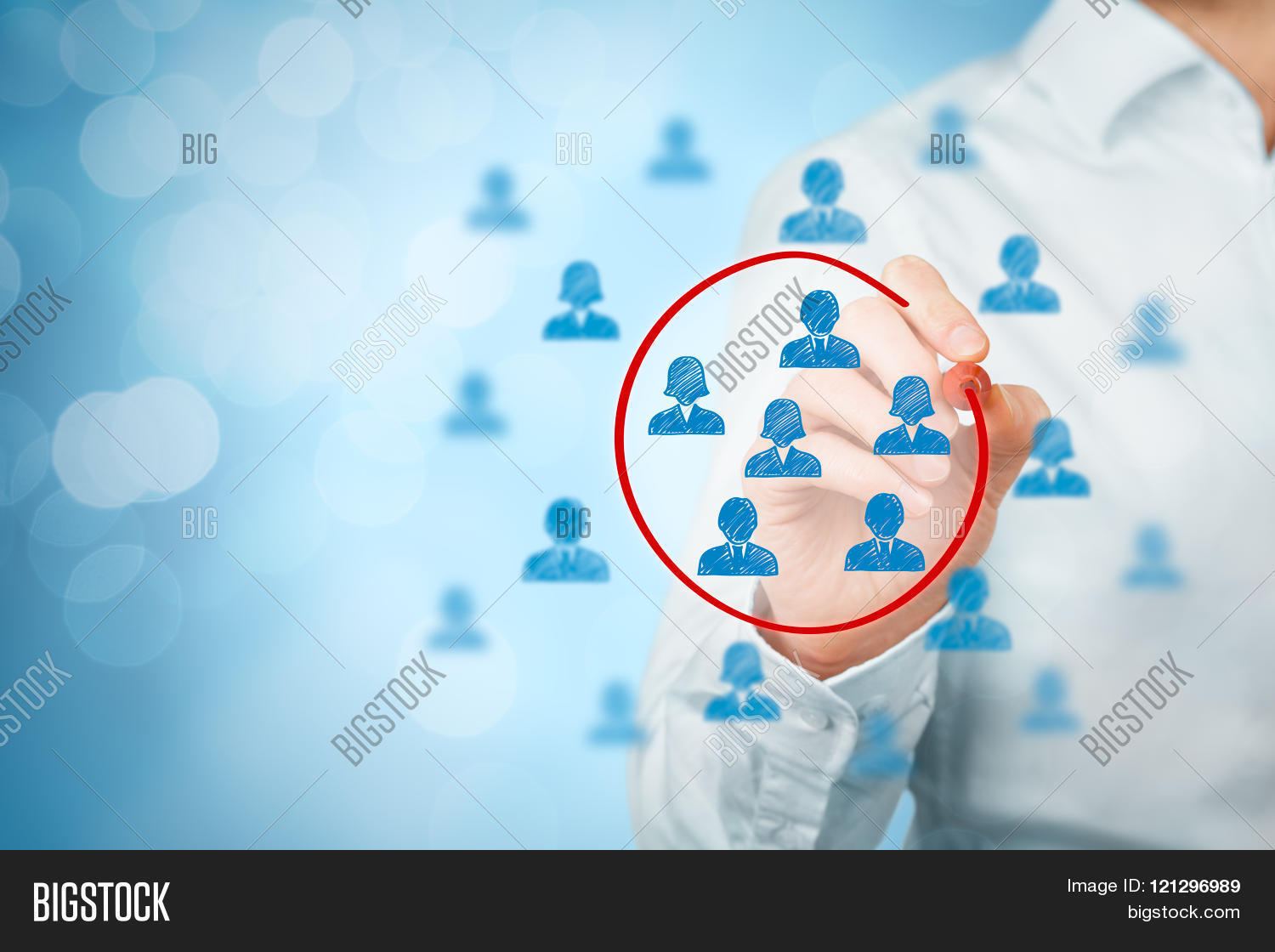 Marketing Segmentation Image & Photo (Free Trial) | Bigstock