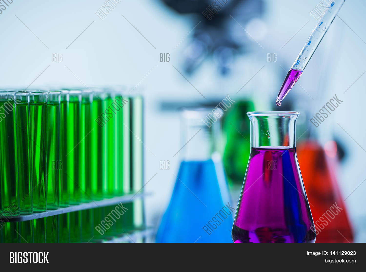 Pipetting Coloured Image Amp Photo Free Trial