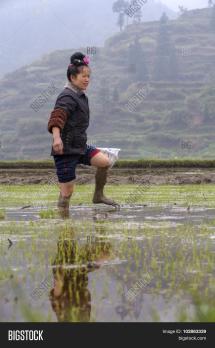 Barefoot Peasant Girl