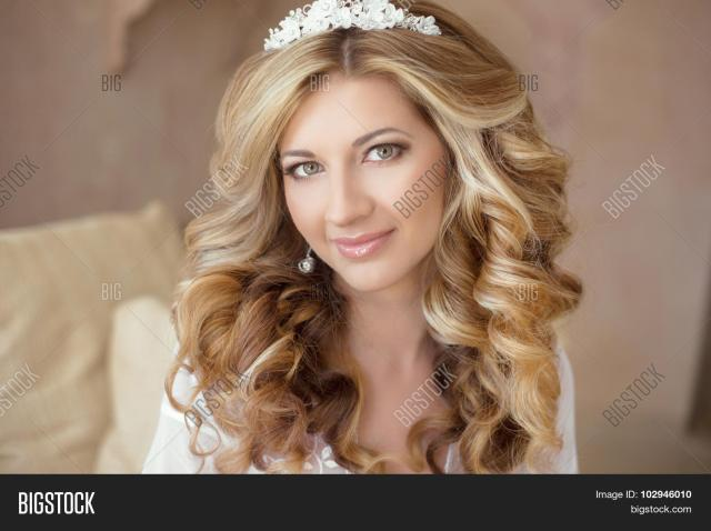 healthy hair. wedding image & photo (free trial) | bigstock