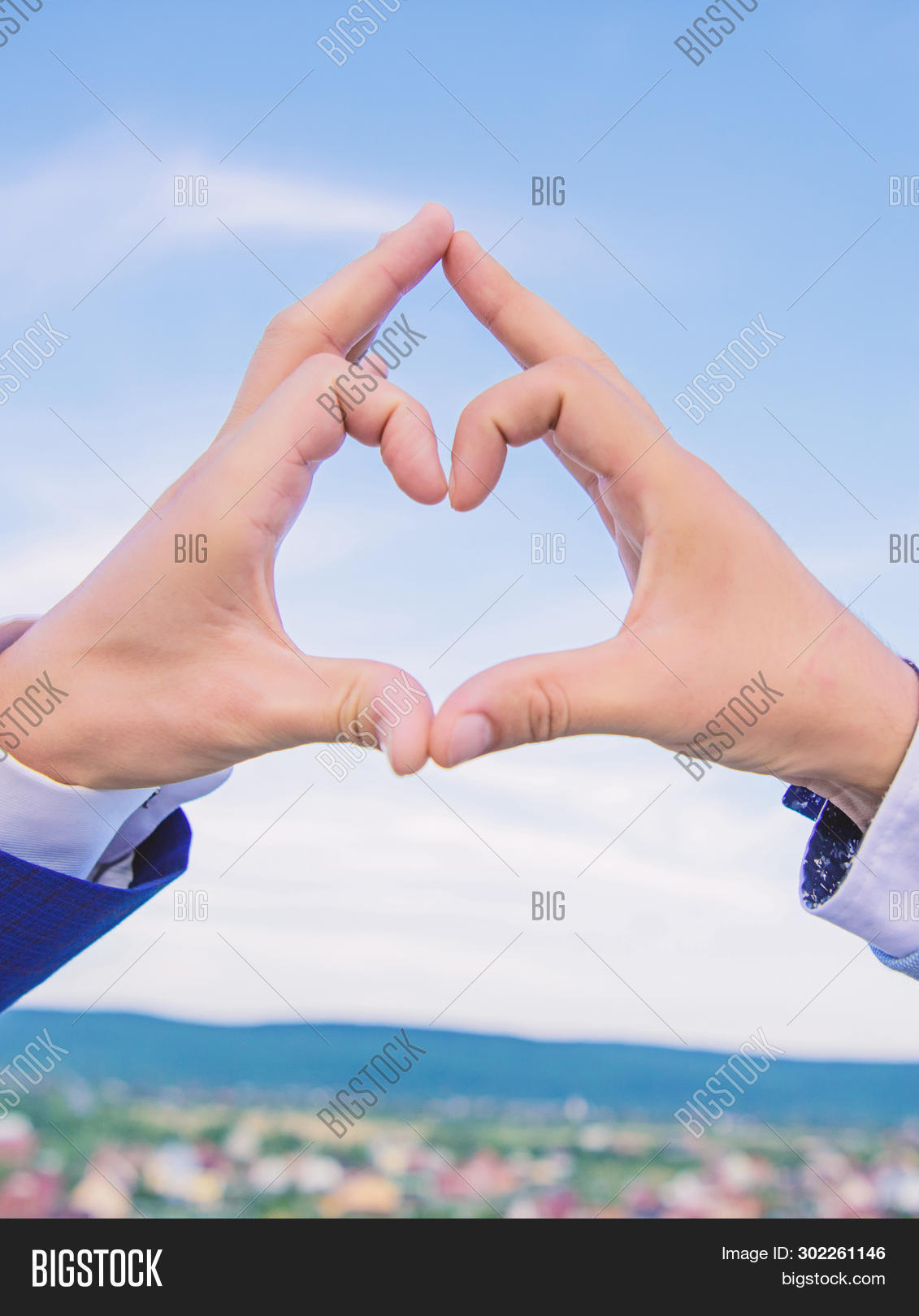 Put Picture In Heart Shape : picture, heart, shape, Hands, Heart, Shape, Image, Photo, (Free, Trial), Bigstock