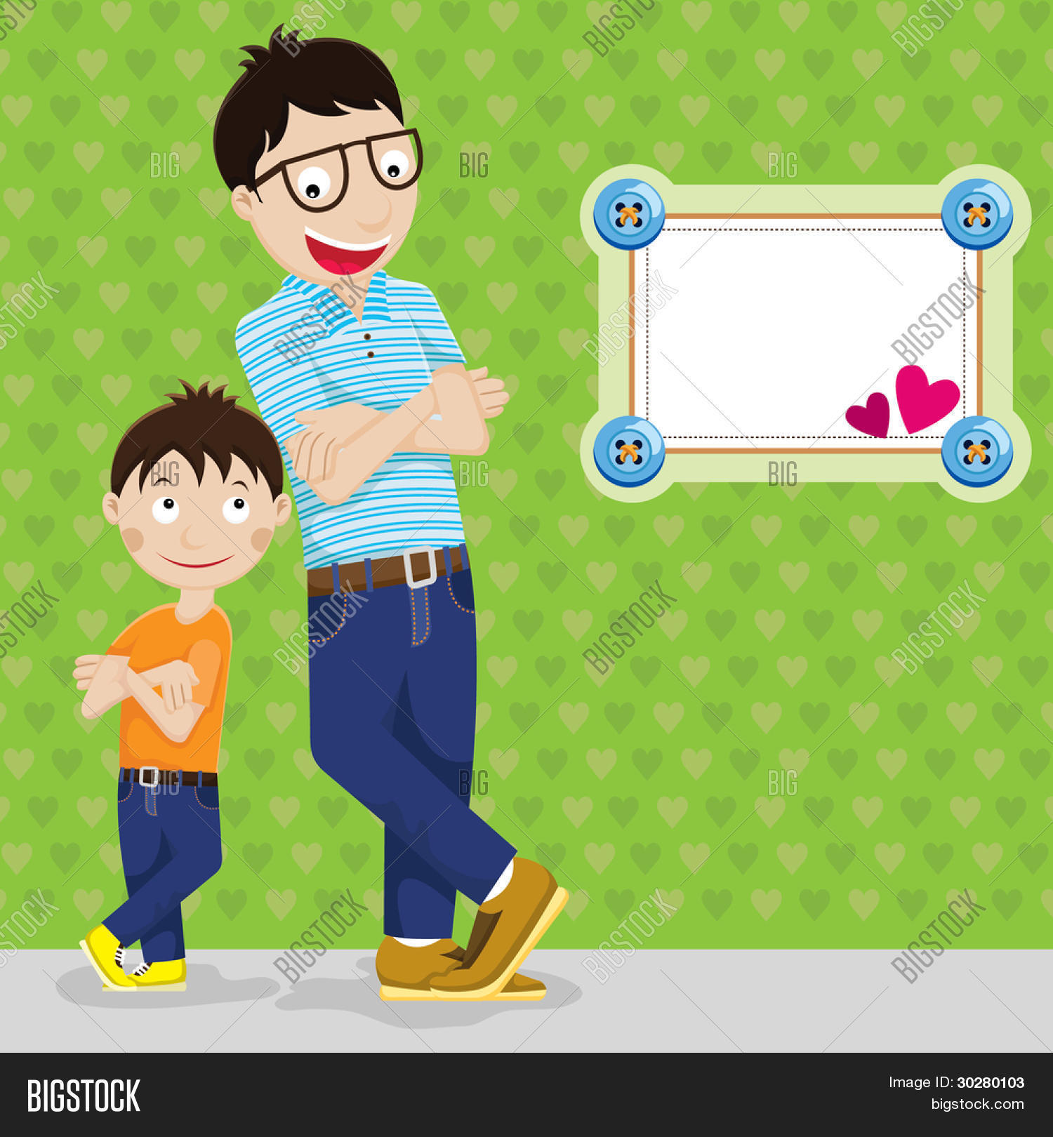 hight resolution of happy father s day father and son