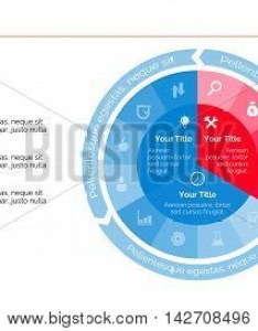 Element of complex pie chart presentation diagram also business vector  photo free trial bigstock rh bigstockphoto