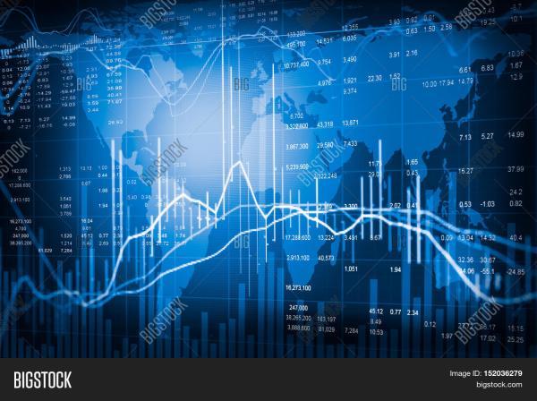Financial Stock Market & Free Trial Bigstock