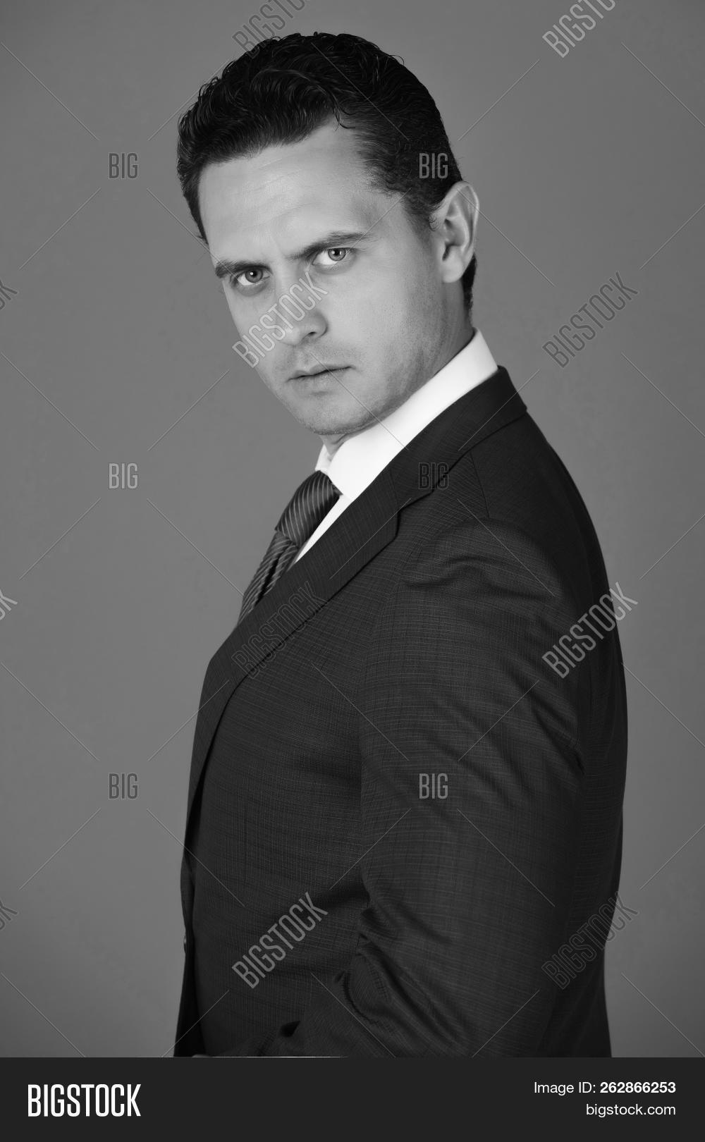 businessman handsome image photo