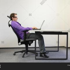 Bad Posture In Chair Nursery Rocking Cushion Set Sitting Image And Photo Free Trial Bigstock