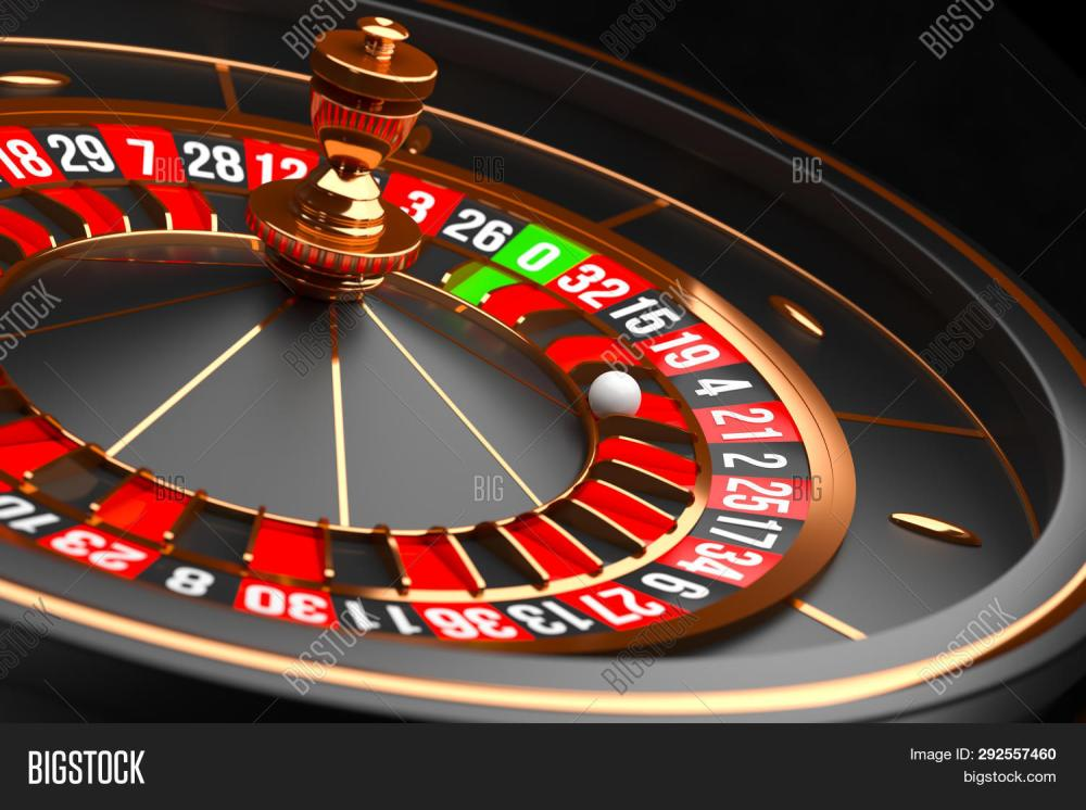 medium resolution of luxury casino roulette wheel on black background casino theme close up black casino