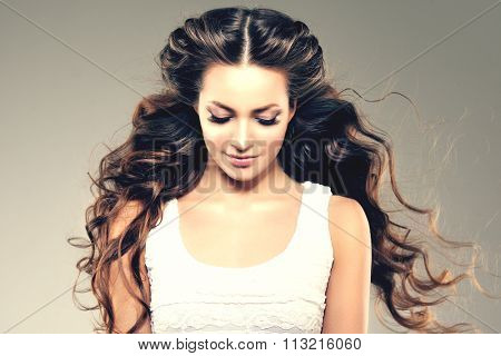 Hairstyle Images Stock Photos & Illustrations Bigstock