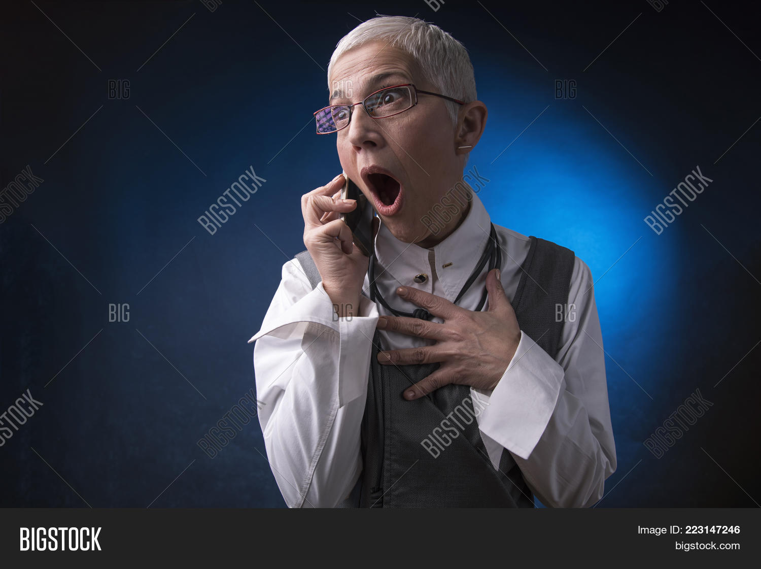 Shocked Appalled Image & Photo (Free Trial)   Bigstock