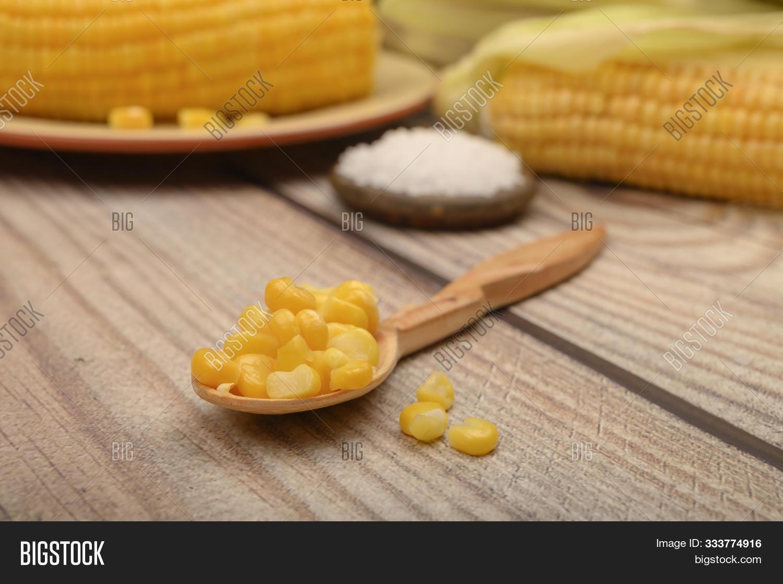 Grains Sweet Corn On Image & Photo (Free Trial) | Bigstock
