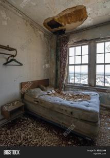 Abandoned Hotel Room & Bigstock
