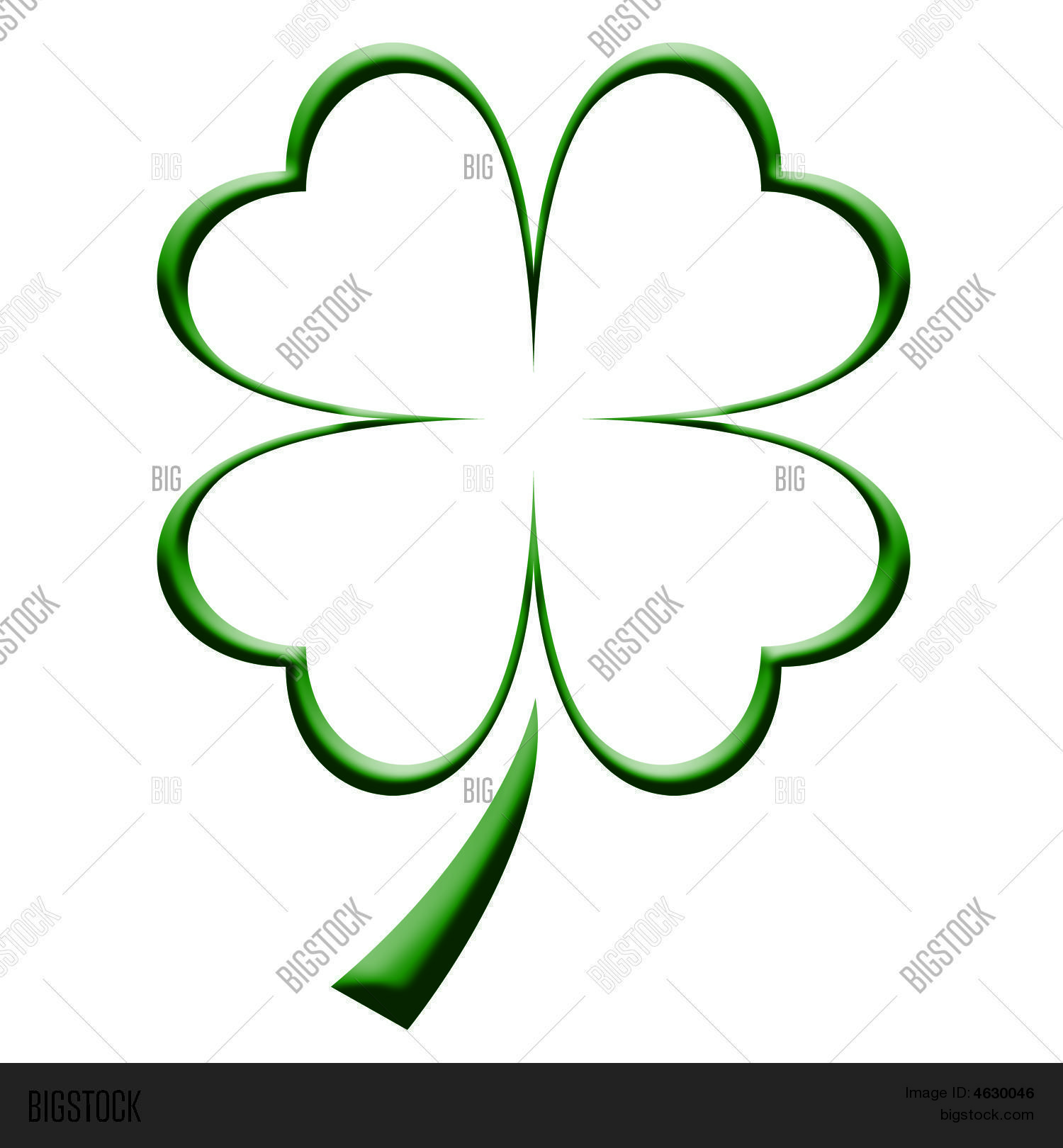 Four Leaf Clover Image Amp Photo Free Trial