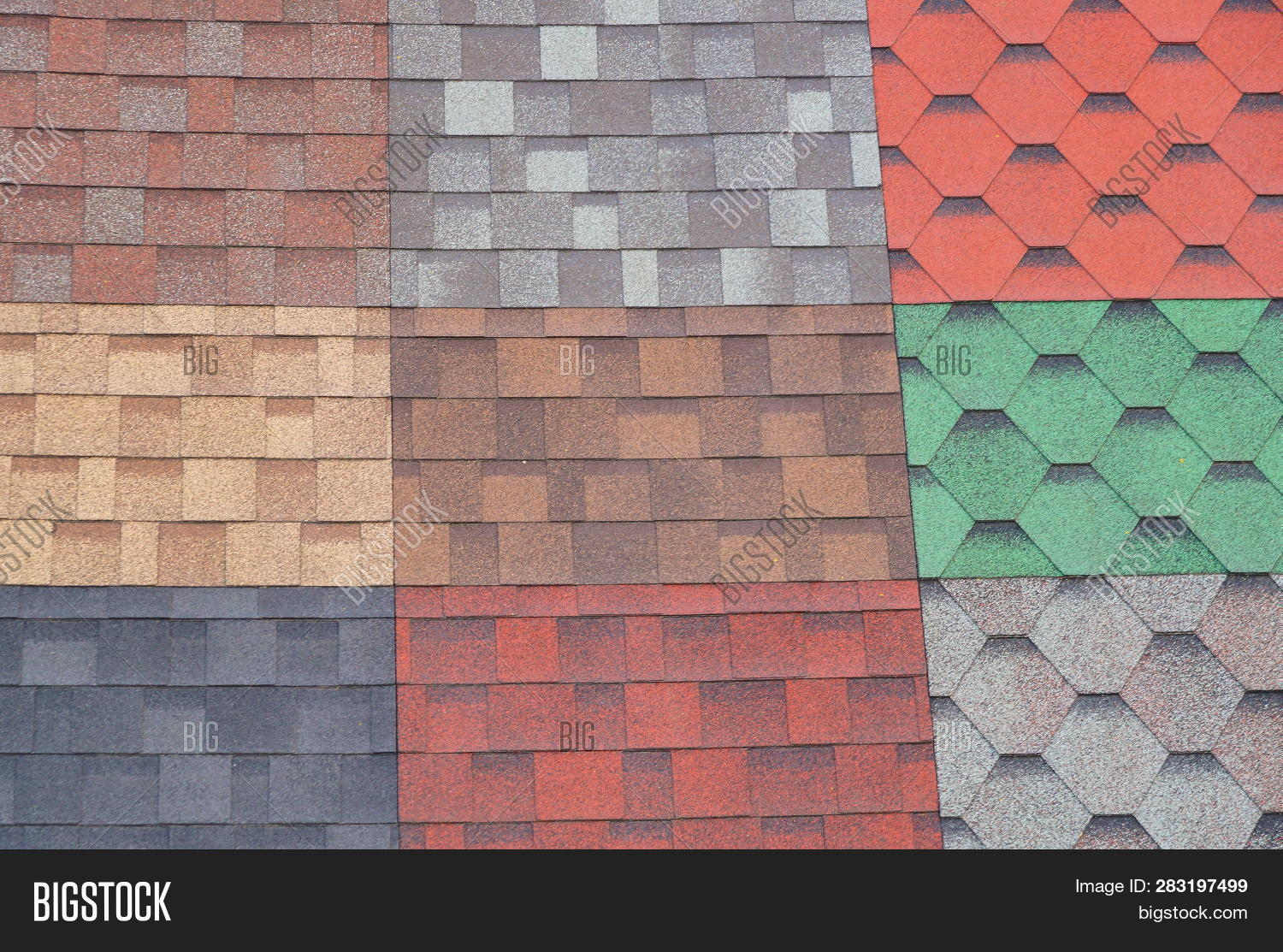 soft roof roof tiles image photo