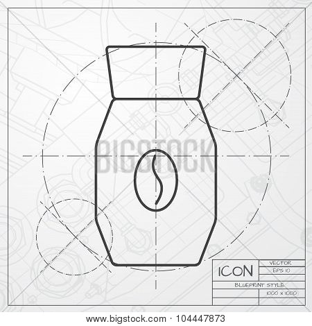 Blueprint Food Container Images, Illustrations, Vectors