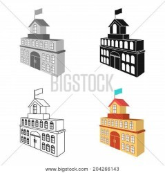 Building Town Hall Vector & Photo Free Trial Bigstock