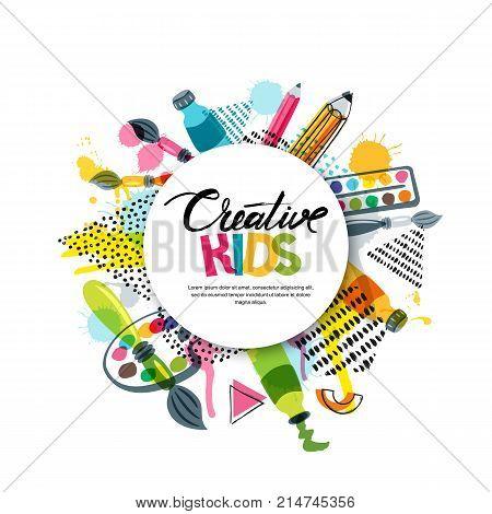 Kids Art Craft Vector Photo Free Trial Bigstock