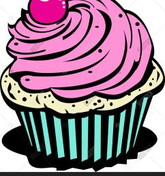 cupcake clipart [ 1357 x 1620 Pixel ]