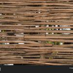 Woven Fence Made Many Image Photo Free Trial Bigstock