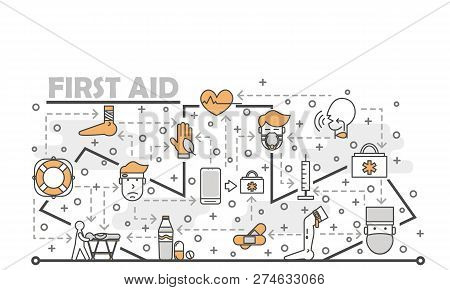 Free first aid poster template
