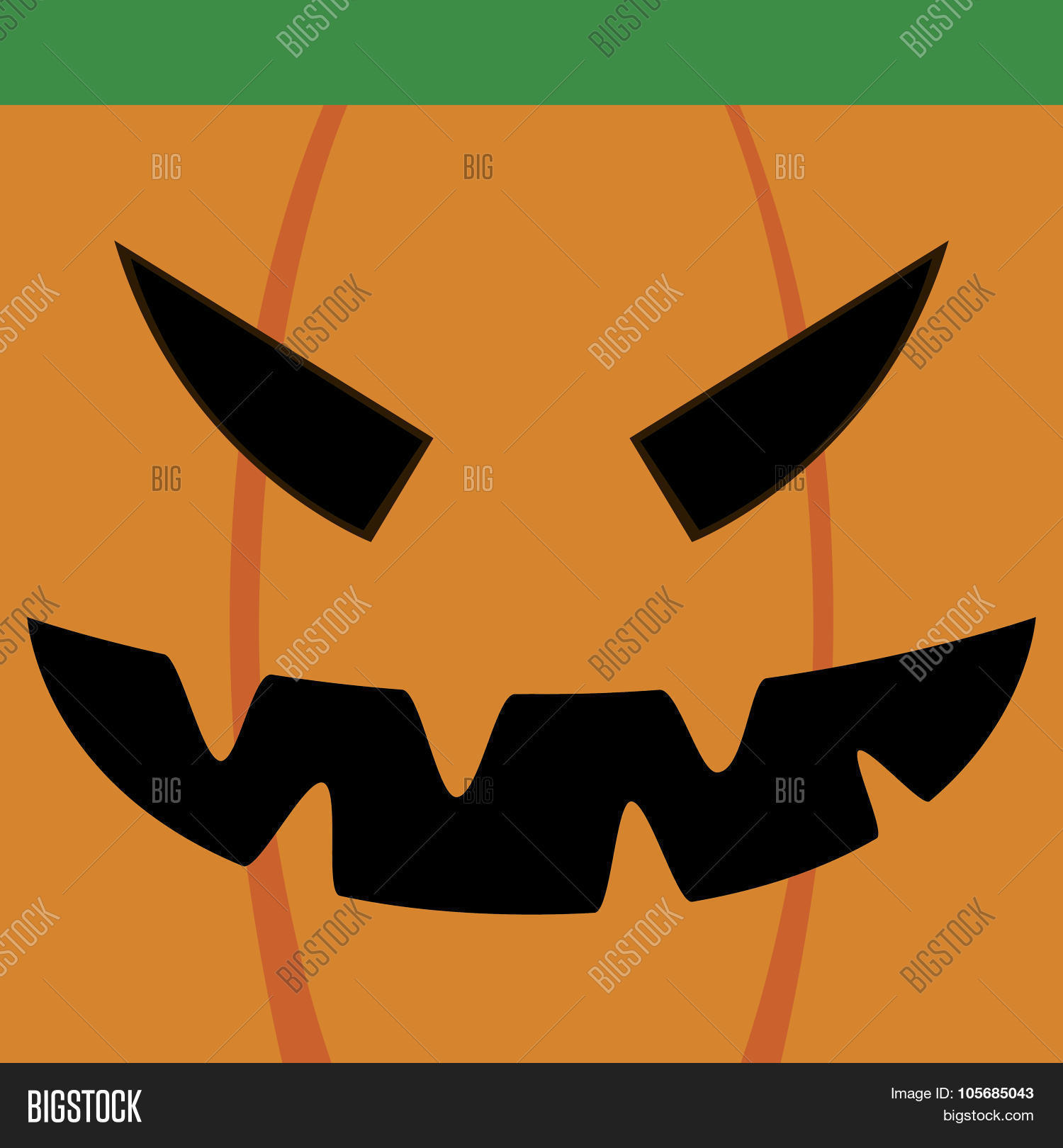 halloween mask vector photo