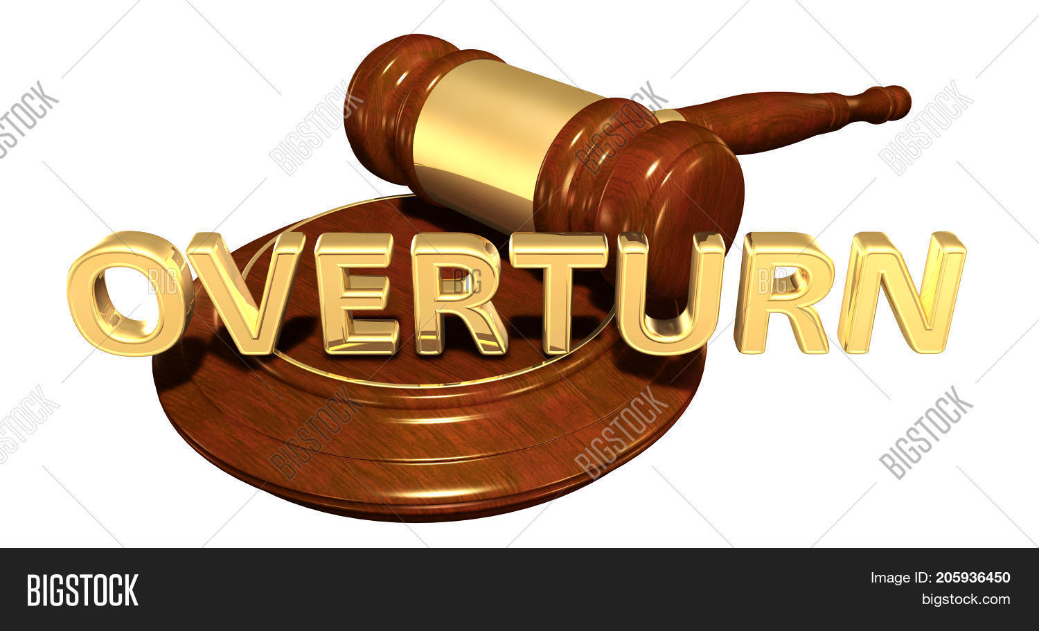 Overturn Law Concept Image & Photo (Free Trial) | Bigstock