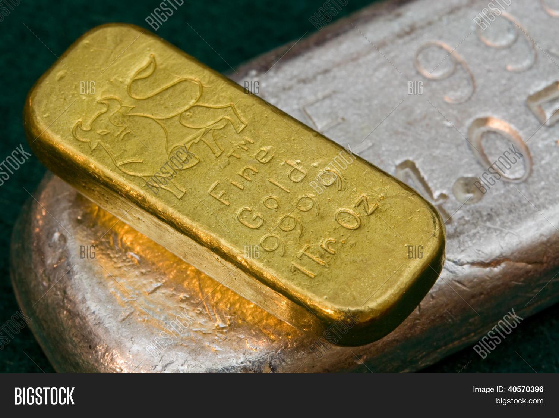 Pure Gold Silver Image & Photo (Free Trial)   Bigstock