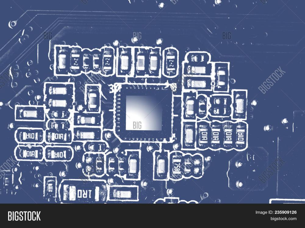 medium resolution of close up of electronic circuit board with chips and processors motherboard laptop computer motherbo