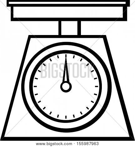 Balance Weight Scale Coloring Pages