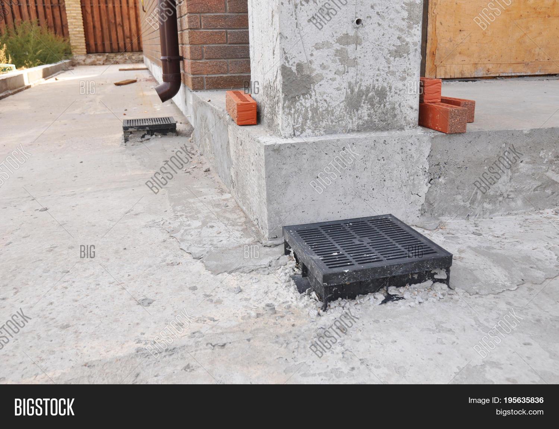 Rain Gutter Downspout Image & Photo (Free Trial)   Bigstock