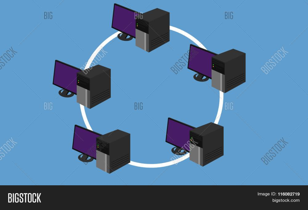 medium resolution of ring network topology lan design networking hardware connected