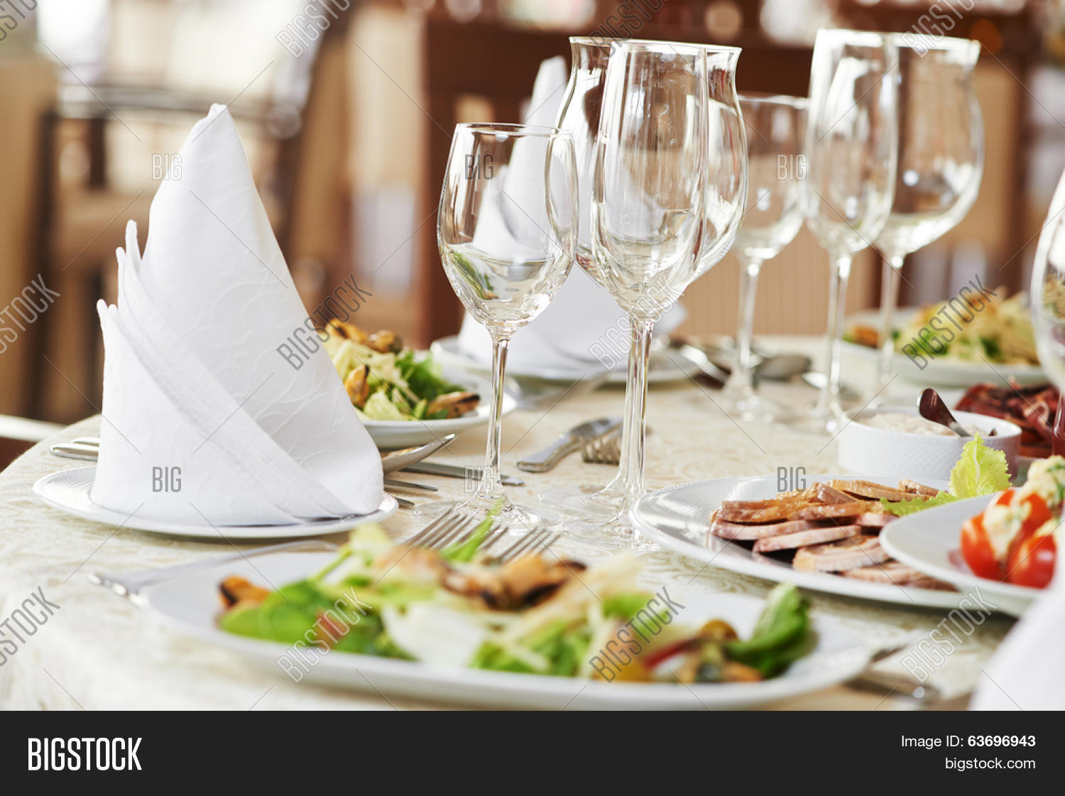 Catering Services Background Snacks Image & Photo | Bigstock