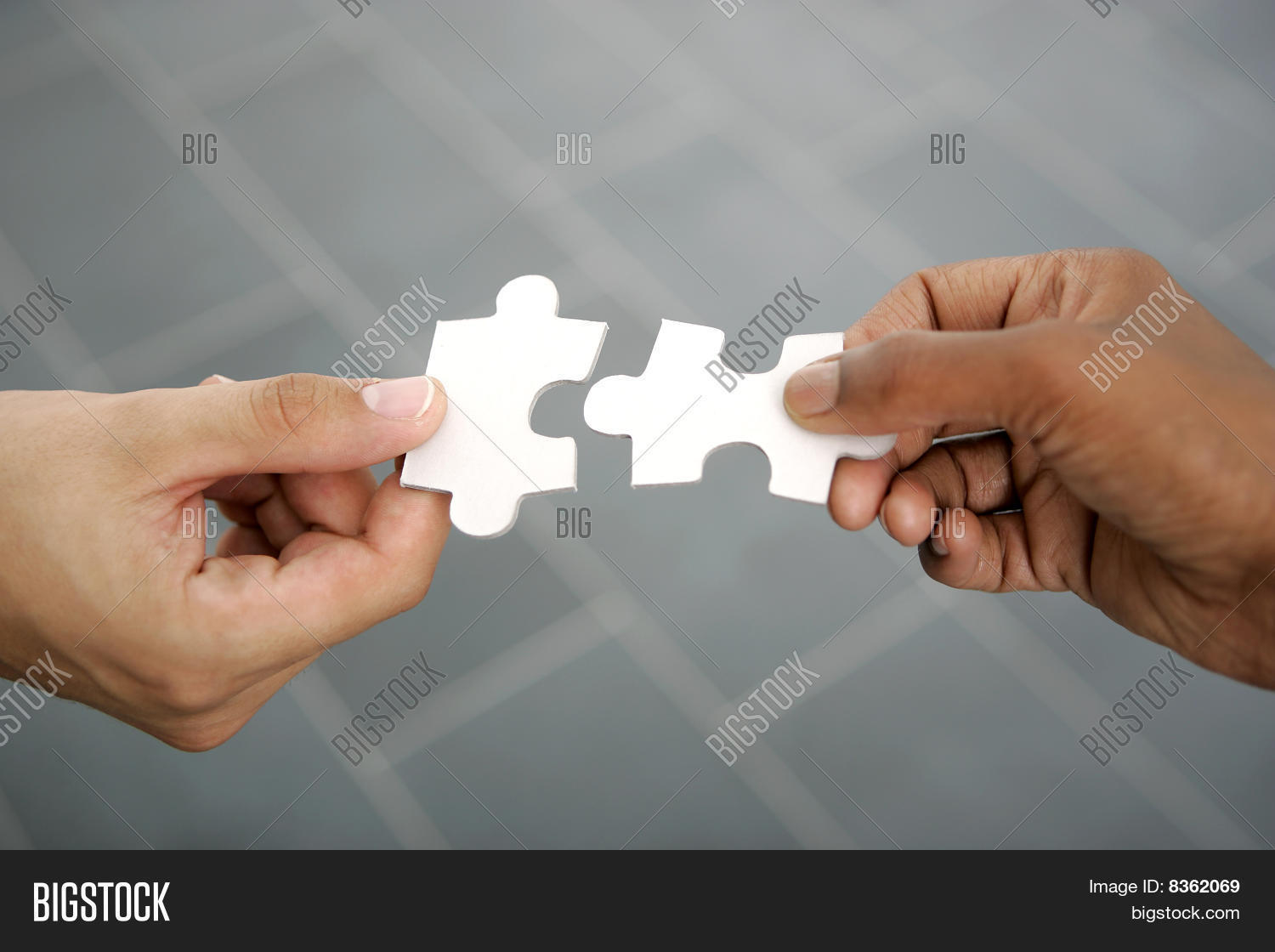Hands Puzzle Pieces Image & Photo (Free Trial) | Bigstock
