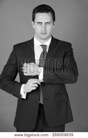 man confident image photo