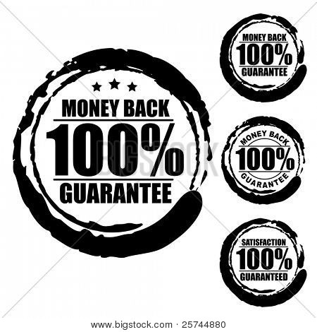 Guarantee Stamp Images, Illustrations & Vectors (Free