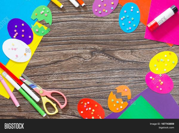 Easter Background & Free Trial Bigstock