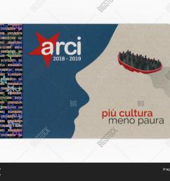 turin italy circa november 2018 arci club card arci is a left [ 1500 x 1181 Pixel ]