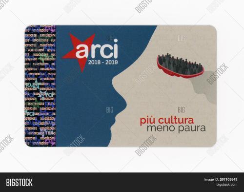 small resolution of turin italy circa november 2018 arci club card arci is a left