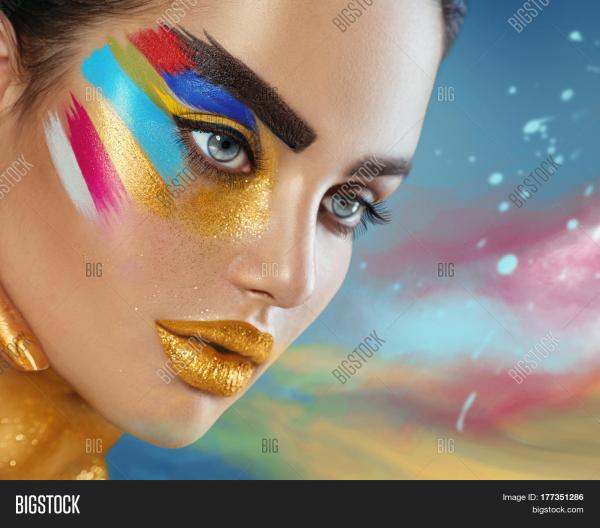 Fashion Model Girl & Free Trial Bigstock