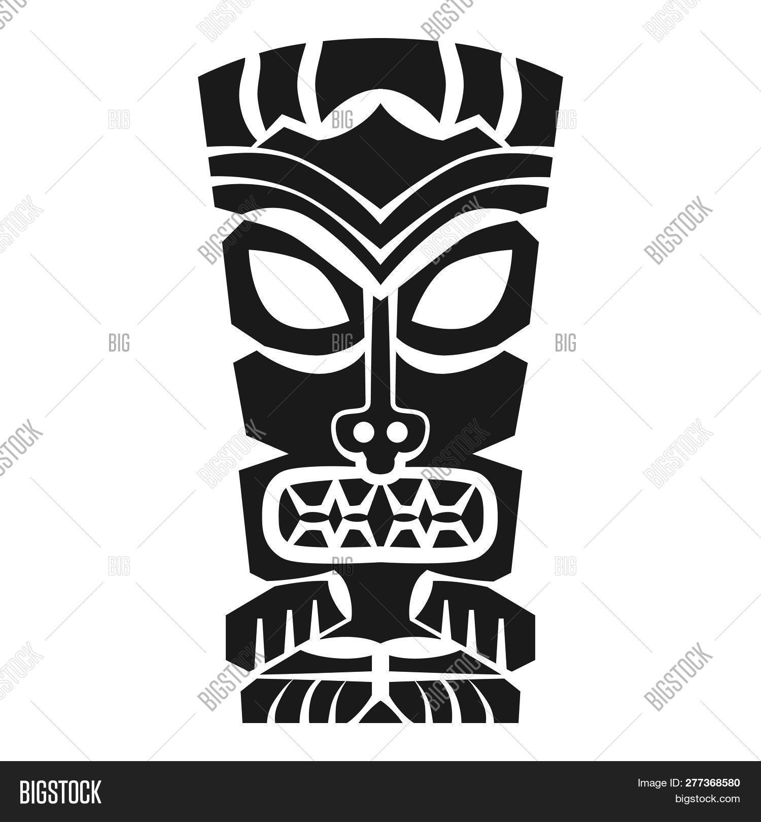 Tiki Idol Icon Simple Image Amp Photo Free Trial