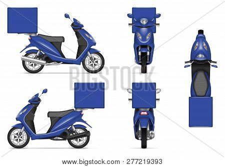 Remember that your labeling is one of the best ambassadors for your branddownload the mock ups and start replacing your box. Delivery Motorcycle Vector Photo Free Trial Bigstock