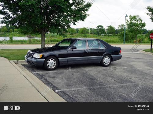small resolution of plainfield illinois united states june 30 2017 a 1996 black mercedes