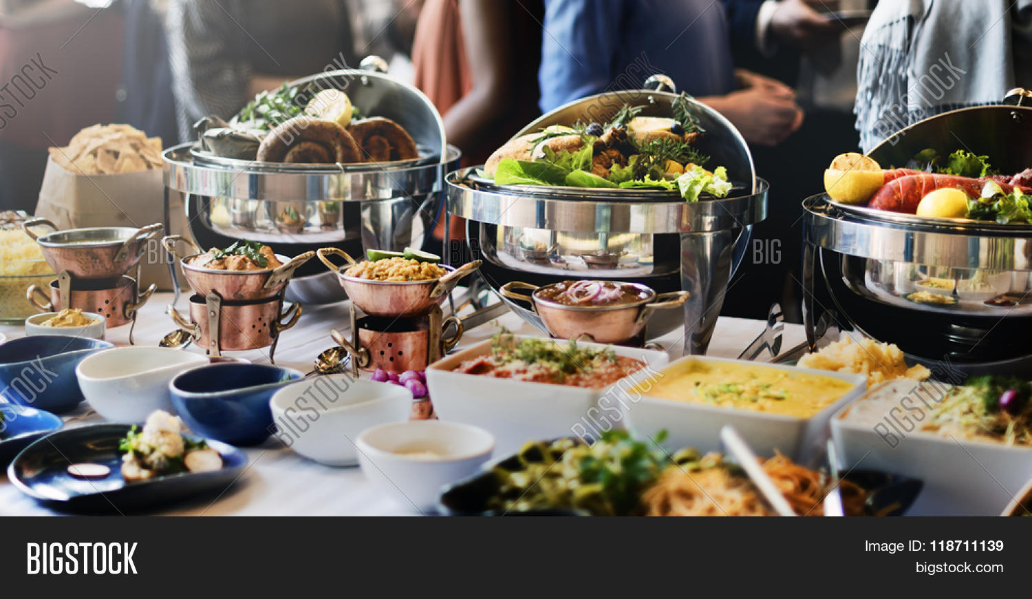 Food Buffet Catering Image & Photo (Free Trial) | Bigstock