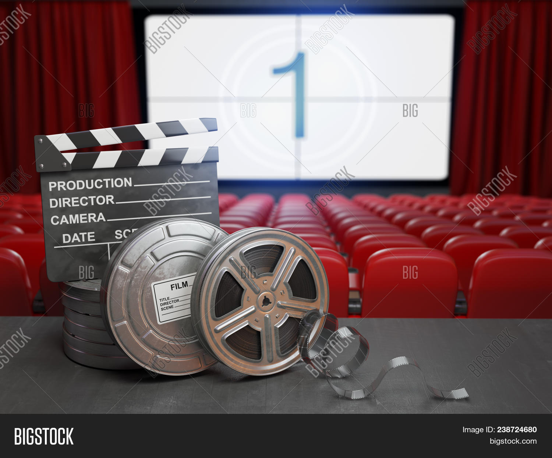 Cinema Movie Home Image Photo Free Trial Bigstock