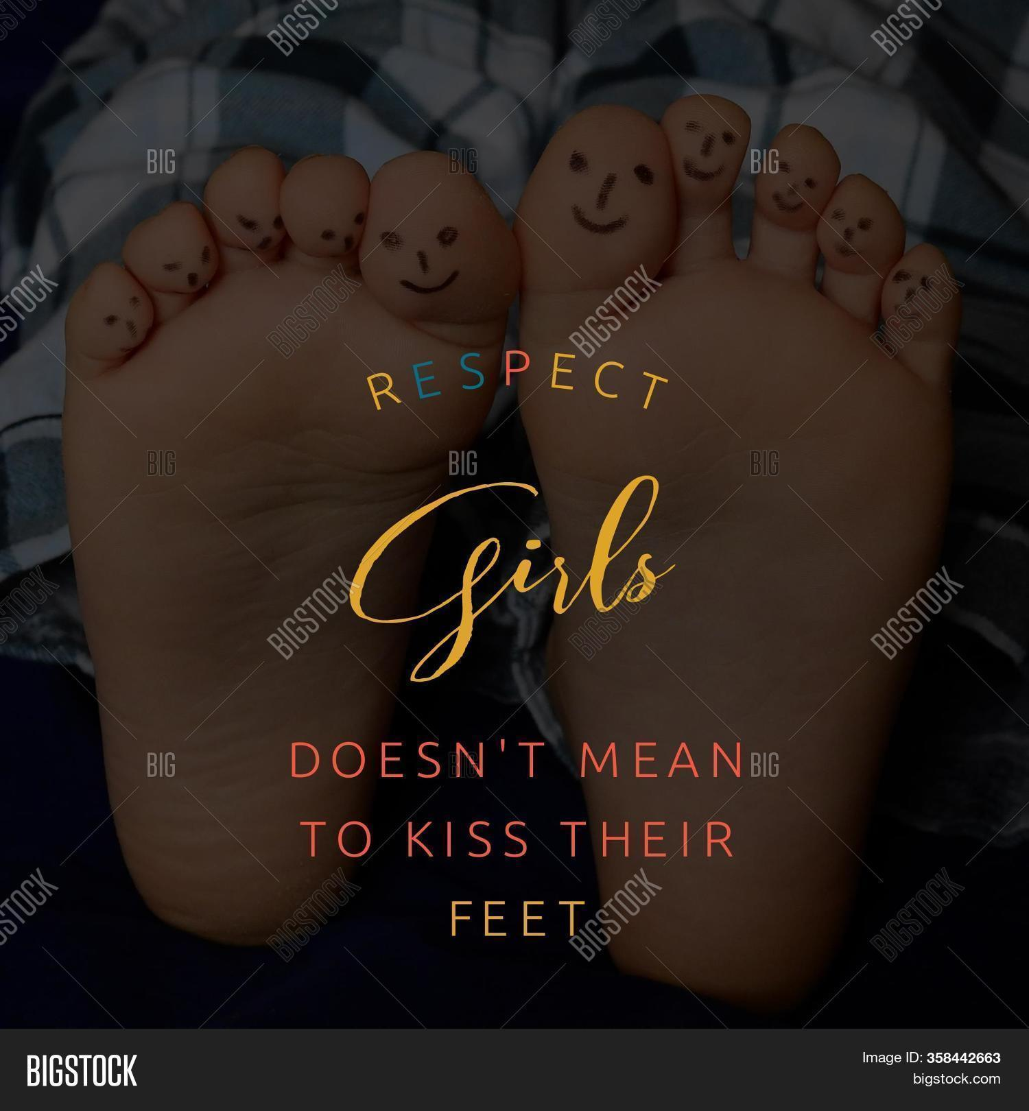 Respect Girls Does Not Image Photo Free Trial Bigstock