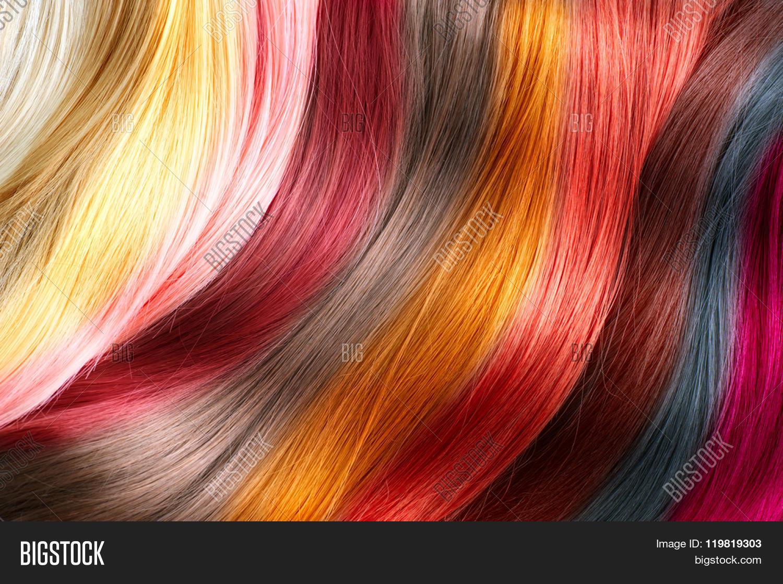 hair colors palette image
