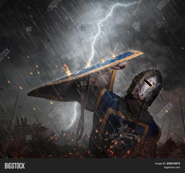 Lightning Strikes & Free Trial Bigstock