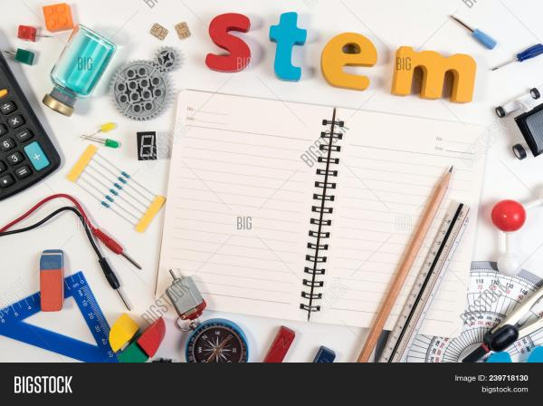 Stem Education. & Free Trial Bigstock